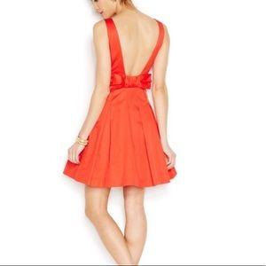 Betsy Johnson bow back dress